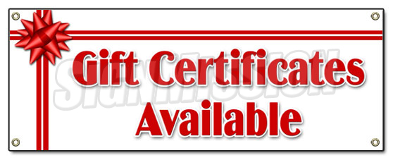 Gift Certifiates