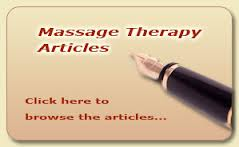 Massage Therapy Articles